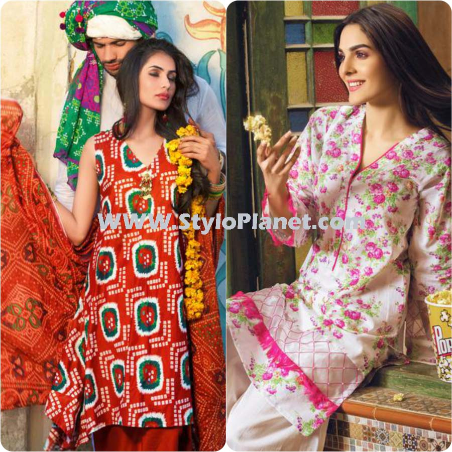 Gul Ahmed Summer Dresses