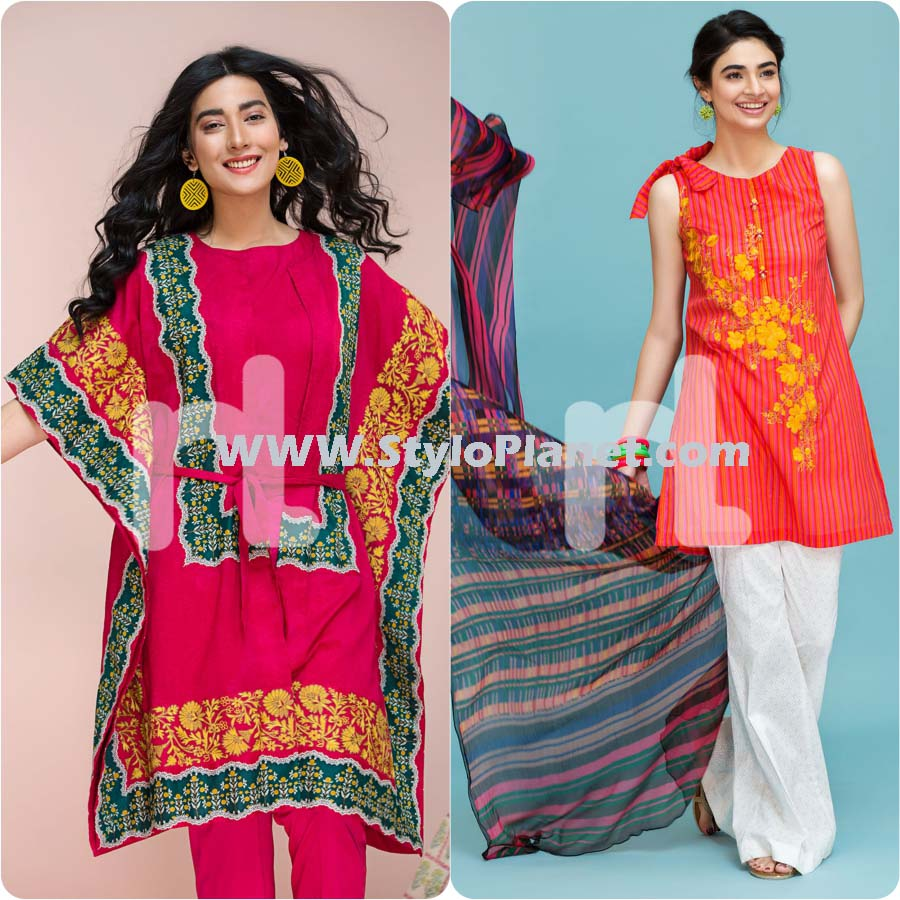 Nishat Linen Party Wear Dresses