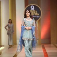 AYESHA AND USMAN WAMAR. QMOBILE HUM BRIDAL COUTURE WEEK (QHBCW) 2017 DAY 2 (4)