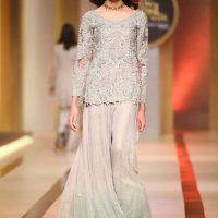 AYESHA AND USMAN WAMAR. QMOBILE HUM BRIDAL COUTURE WEEK (QHBCW) 2017 DAY 2 (8)