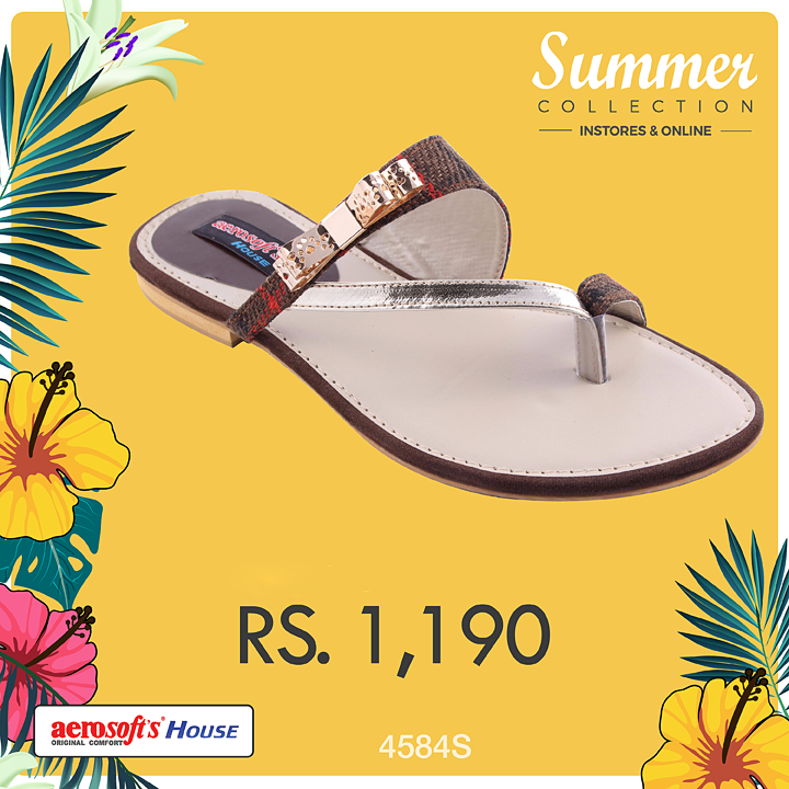 Aerosoft Fancy Chappals Designs
