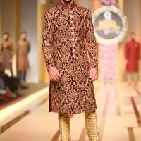 Ahsan's Menswear- QMOBILE HUM TV BRIDAL COUTURE WEEK (QHBCW) 2017 DAY 3 (10)