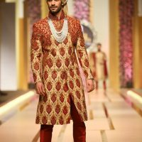 Ahsan's Menswear- QMOBILE HUM TV BRIDAL COUTURE WEEK (QHBCW) 2017 DAY 3 (5)