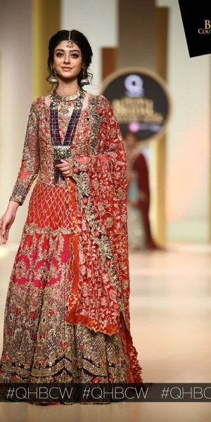 Aisha Fareed- mobile Hum Bridal Couture Week 2017 (2)