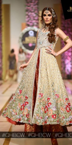 Annus Abrar-QMOBILE HUM TV BRIDAL COUTURE WEEK (QHBCW) 2017 DAY 3 (7)