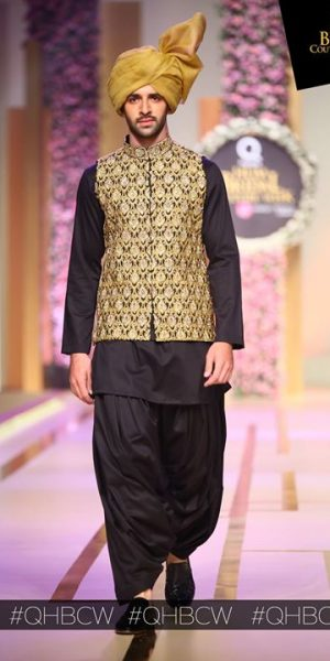 Emraan rajput- QMOBILE HUM TV BRIDAL COUTURE WEEK (QHBCW) 2017 DAY 3 (1)