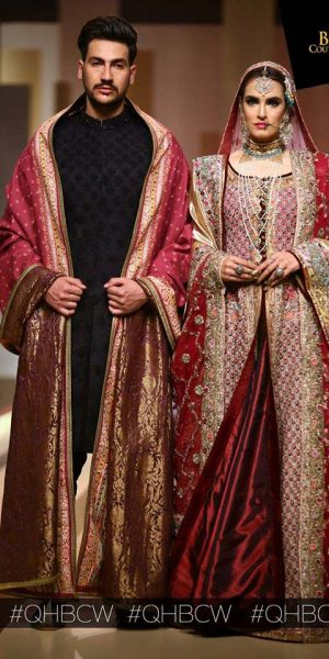 FAHAD HUSSAYN QMOBILE HUM BRIDAL COUTURE WEEK (QHBCW) 2017 DAY 2 (6)