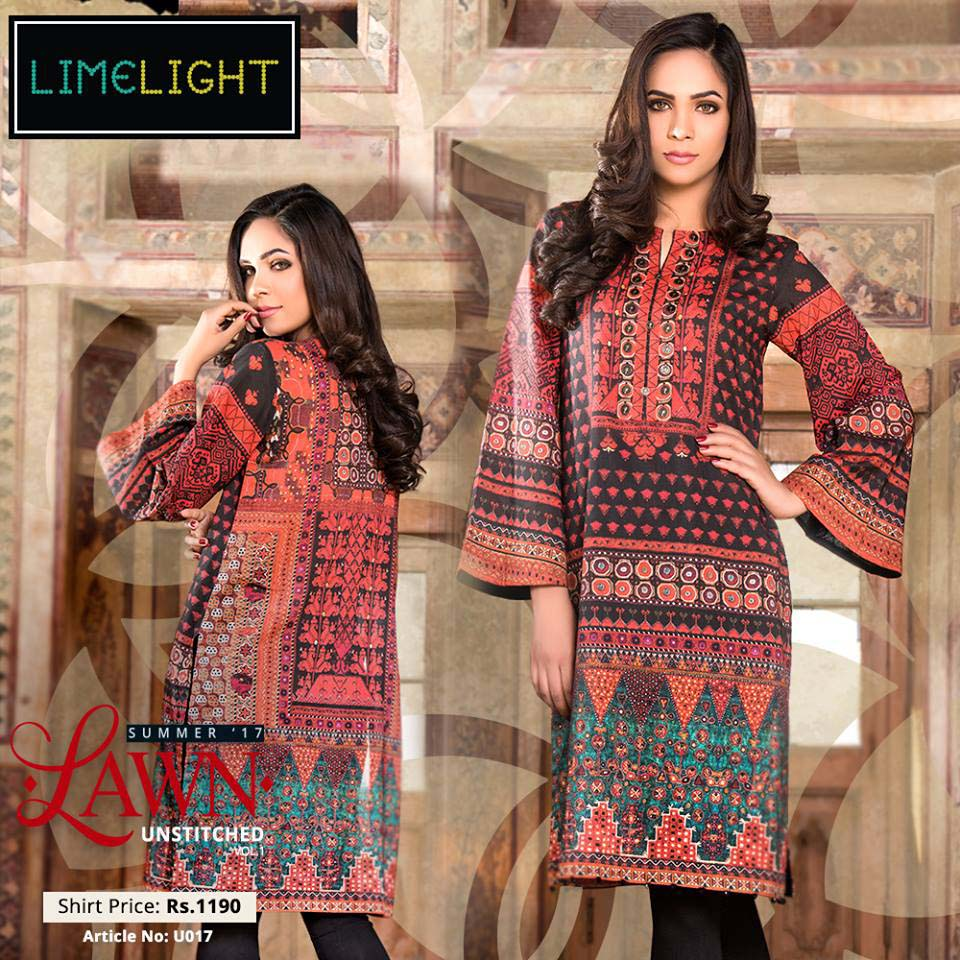 Limelight Latest Summer Lawn Dresses 2017 18 Stylo Planet
