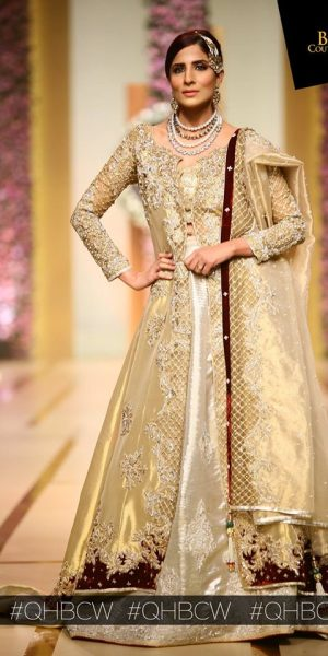 Nickie Ninan-QMOBILE HUM TV BRIDAL COUTURE WEEK (QHBCW) 2017 DAY 3 (1)