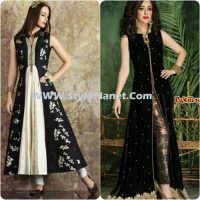 Party Wear Dresses by Indian and Pakistani Designers 2017-Latest Formal Dresses (18)