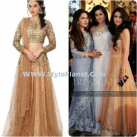 Party Wear Dresses by Indian and Pakistani Designers 2017-Latest Formal Dresses (2)