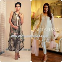 Party Wear Dresses by Indian and Pakistani Designers 2017-Latest Formal Dresses (20)