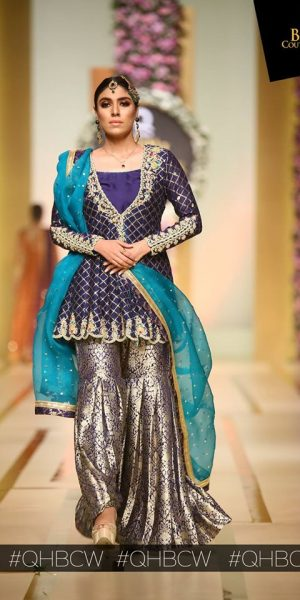 Sana Abbas-QMOBILE HUM TV BRIDAL COUTURE WEEK (QHBCW) 2017 DAY 3 (19)