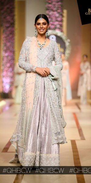 Sana Abbas-QMOBILE HUM TV BRIDAL COUTURE WEEK (QHBCW) 2017 DAY 3 (8)