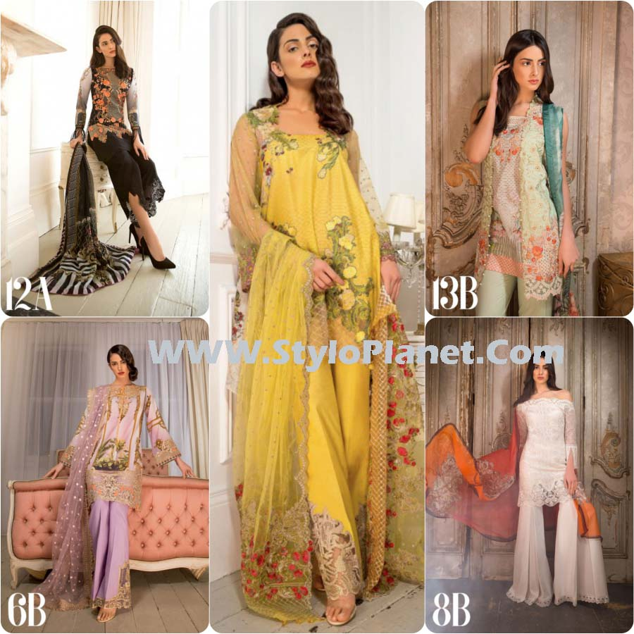 0a64eb3a5a Sobia Nazir Spring Summer Lawn Dresses 2017-18 Latest Collection