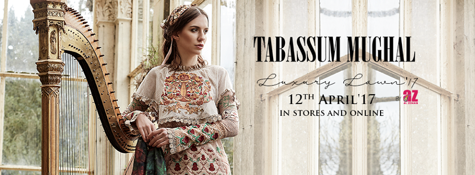 Tabassum Mughal Spring Summer Luxury Lawn Collection 2017-18