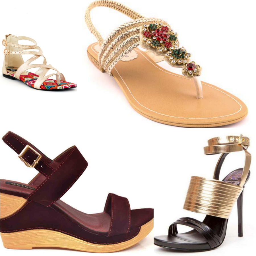 Top 10 Most Popular Pakistani Brands Summer Footwear for Women 2017-18