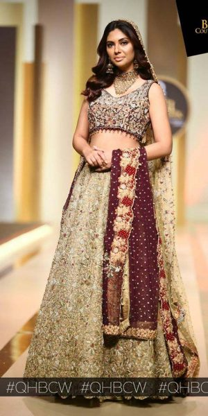 UMSHA BY UZMA BABAR- QMOBILE HUM BRIDAL COUTURE WEEK (QHBCW) 2017 DAY 2 (11)