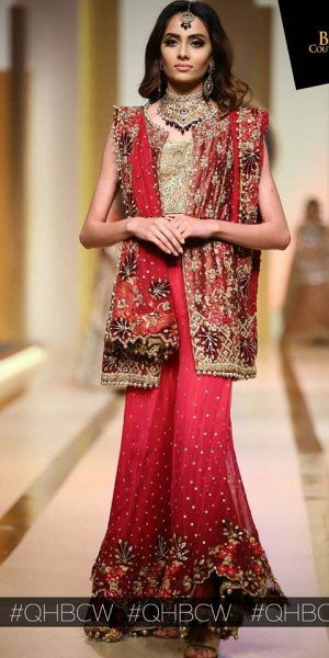 UMSHA BY UZMA BABAR- QMOBILE HUM BRIDAL COUTURE WEEK (QHBCW) 2017 DAY 2 (9)