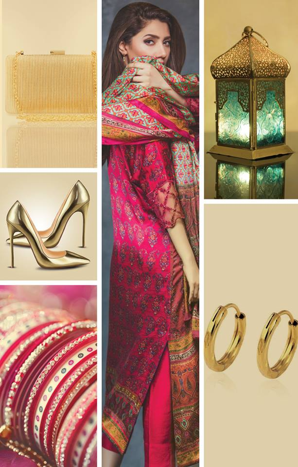 Alkaram Eid dresses With Accessories