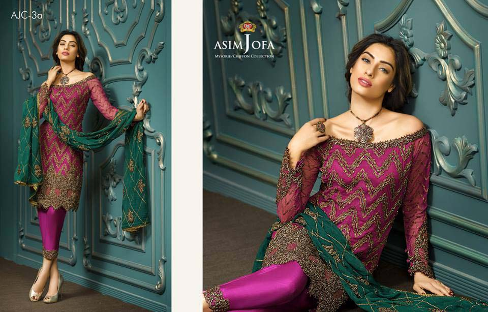 Asim Jofa Latest Eid Collection