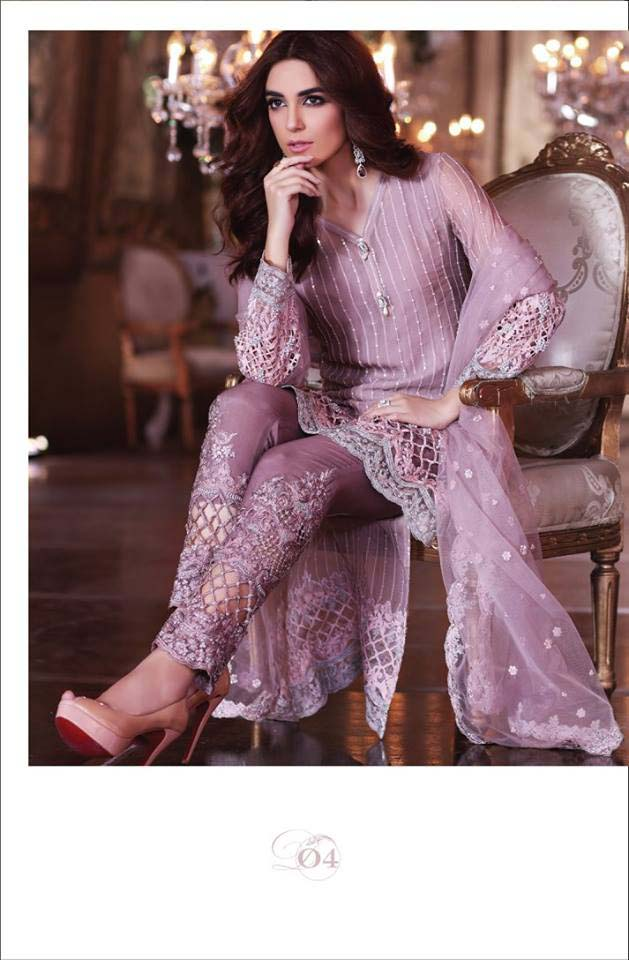 099c185477 Maria.b Embroidered Collection 2017 · Alkaram Latest Eid Dresses Collection  ...