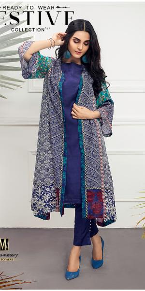 Masummery Ready To Wear Eid-ul-Fitr Collection 2017-18 Eid Look-Book (3)