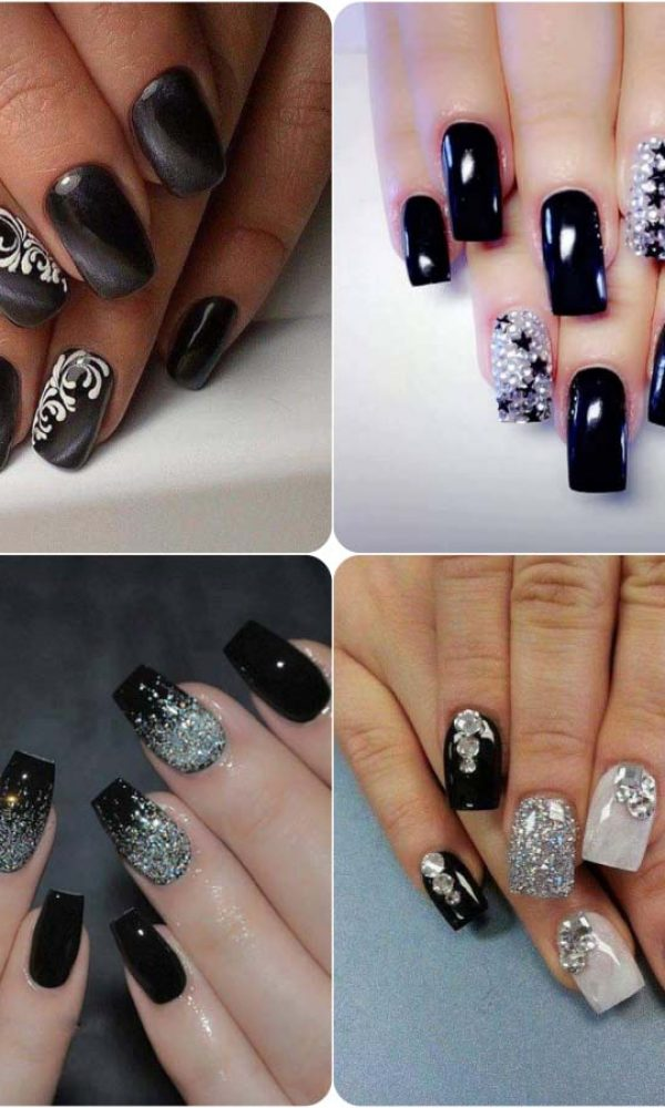 Beautiful Classy Eid Nail Paint Designs and Colors for Girls 2017-18 (14)