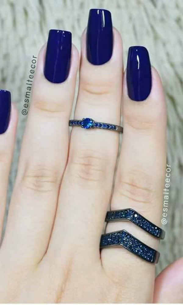 Beautiful Classy Eid Nail Paint Designs and Colors for Girls 2017-18 (15)
