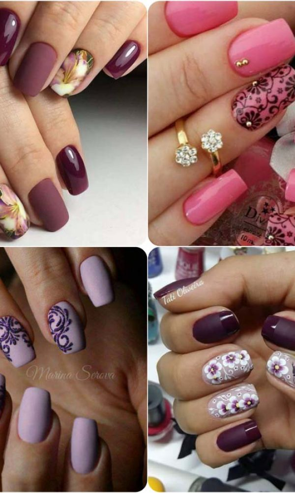 Beautiful Classy Eid Nail Paint Designs and Colors for Girls 2017-18 (16)