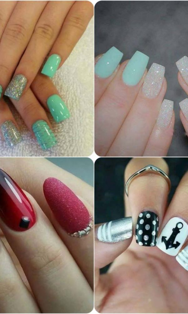 Beautiful Classy Eid Nail Paint Designs and Colors for Girls 2017-18 (17)