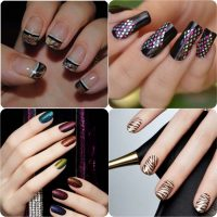 Beautiful Classy Eid Nail Paint Designs and Colors for Girls 2017-18 (7)