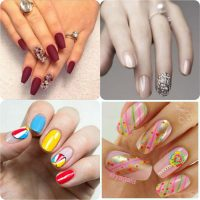 Beautiful Classy Eid Nail Paint Designs and Colors for Girls 2017-18 (8)
