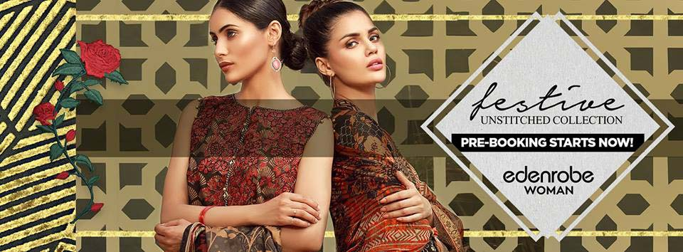 Eden Robe Latest Eid Collection 2017 for Men, Women and Kids