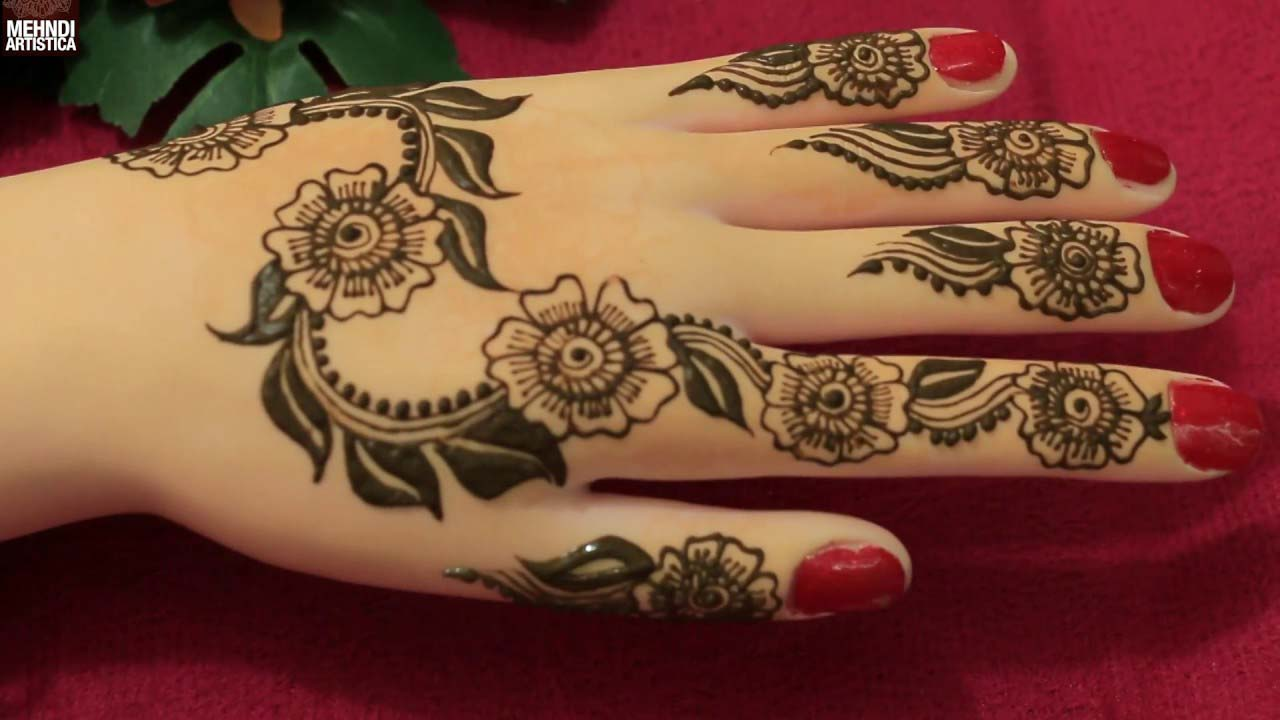 Top 10 Mehndi Designs and Types for Girls 2017