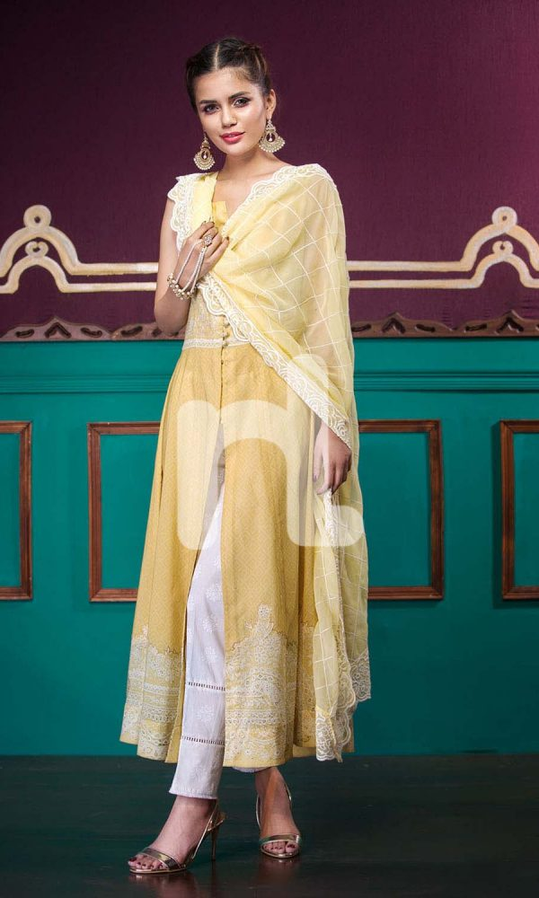 Nishat Linen Printed and Embroidered Eid Dresses Collection 2017-18 (1)