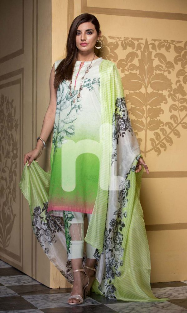 Nishat Linen Printed and Embroidered Eid Dresses Collection 2017-18 (11)