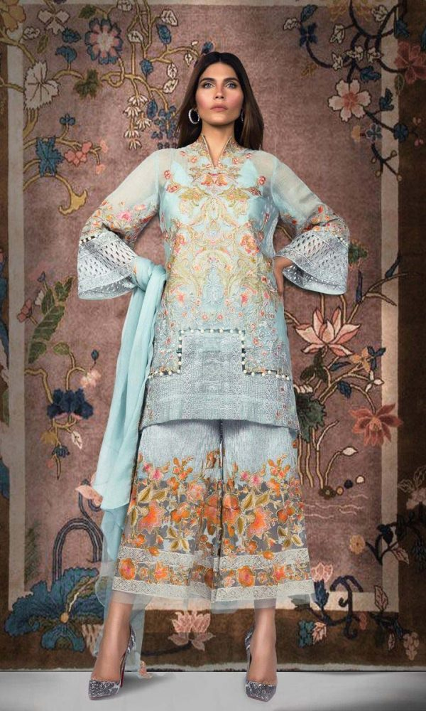 Sana Safinaz Luxury Embroidered Eid Collection 2017-18 (11)
