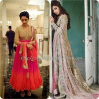 Best Pakistani and Indian Anarkali Frocks Trends and Designs 2017-2018 (10)