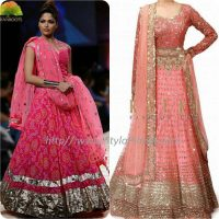 Best Pakistani and Indian Anarkali Frocks Trends and Designs 2017-2018 (16)