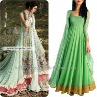 Best Pakistani and Indian Anarkali Frocks Trends and Designs 2017-2018 (2)