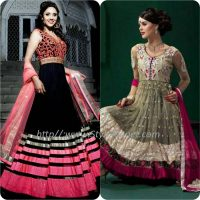 Best Pakistani and Indian Anarkali Frocks Trends and Designs 2017-2018 (8)