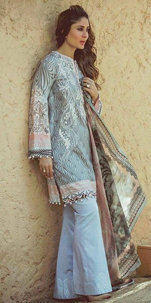 Latest Pakistani Bootcut PantTrousers Designs and Trends 2017-2018 (7)