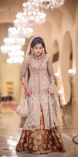 Pakistai Bridals Beautiful Walima Dresses 2017 Latest Trends (19)