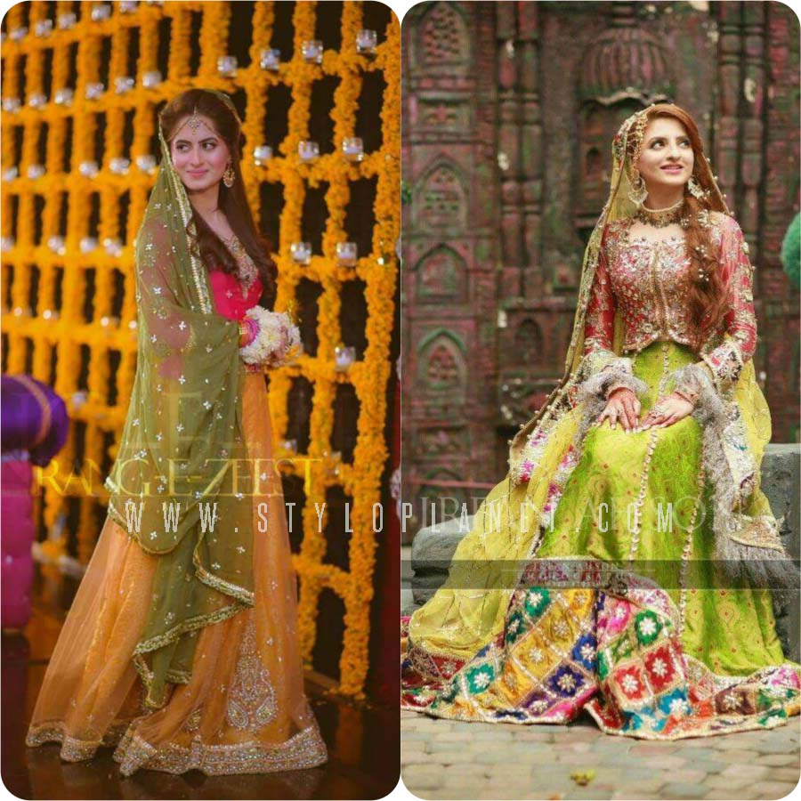 Mayoun Mehndi Dresses