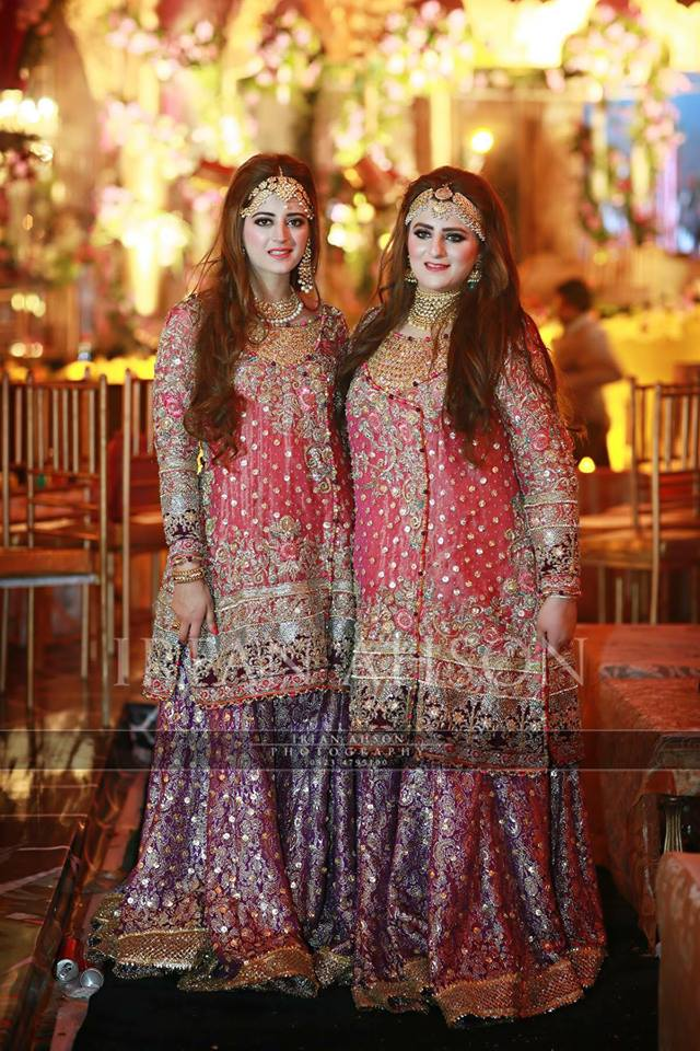 pakistani party wear dresses for asian girls
