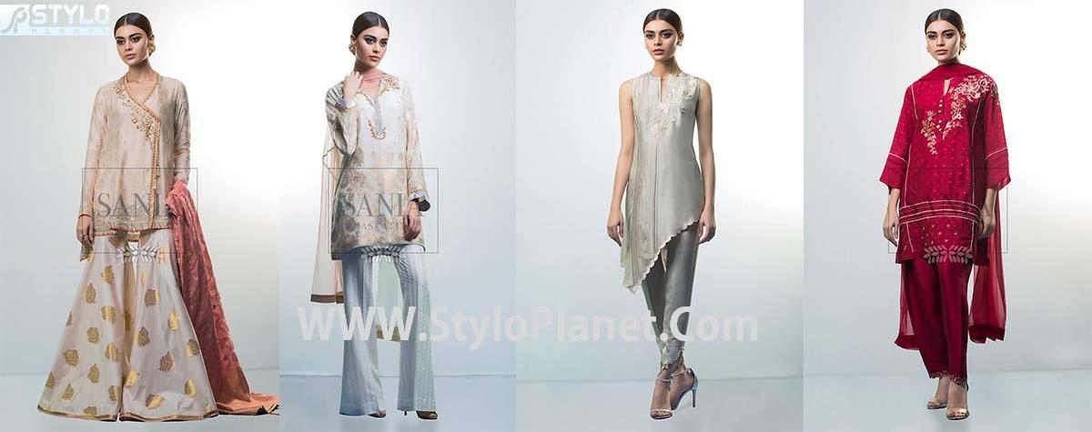 Sania Maskatiya Luxury Eid Collection for Women 2017-18