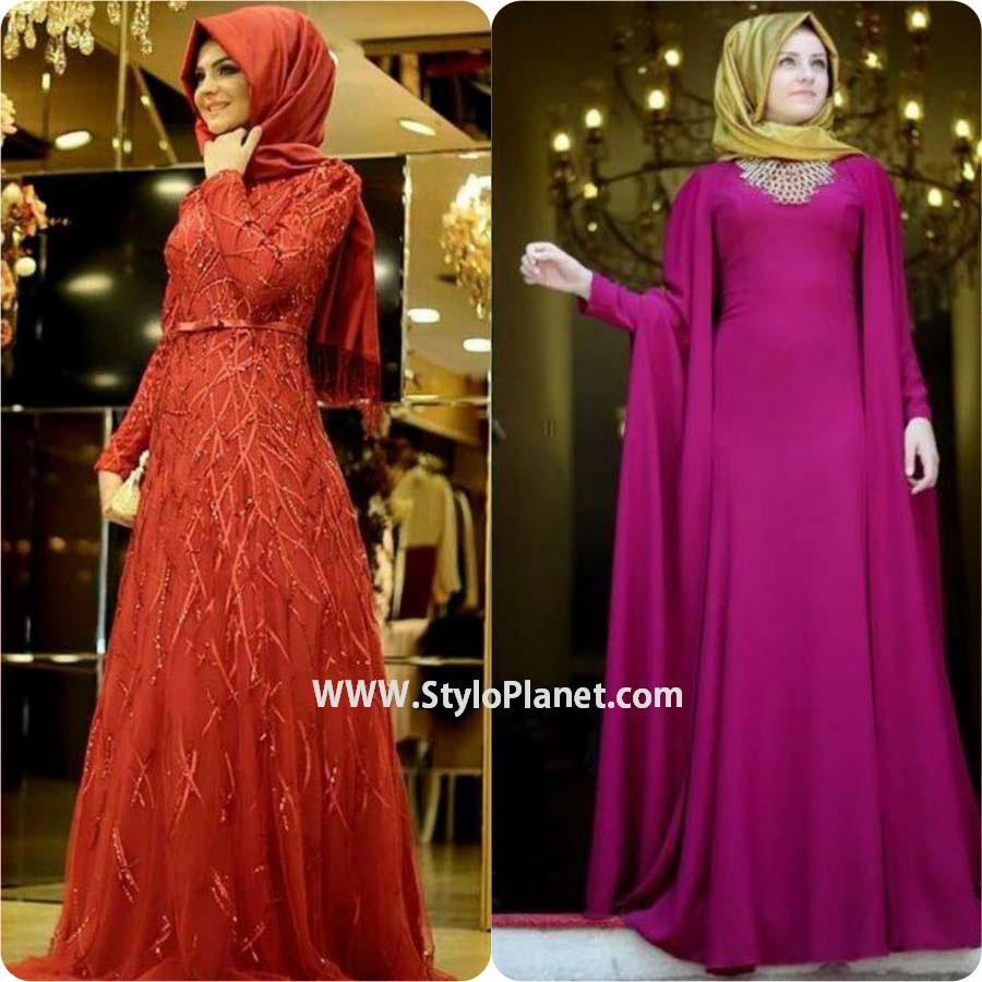 Latest Fancy And Stylish Hijab Abaya Designs 2017 2018 Collection