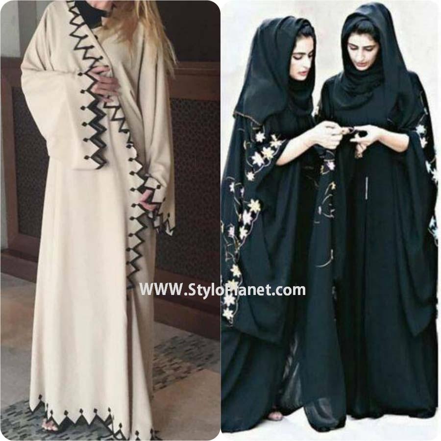 Fancy Hijab and Abaya Designs for Muslim Girls