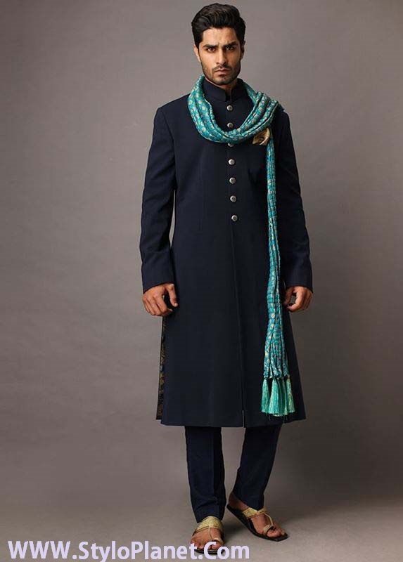 Mehndi Mens Dress : Groom mehndi dresses designs and styles stylo planet